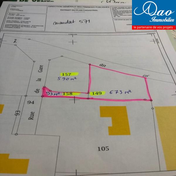 Offres de vente Terrain Fontvannes 10190